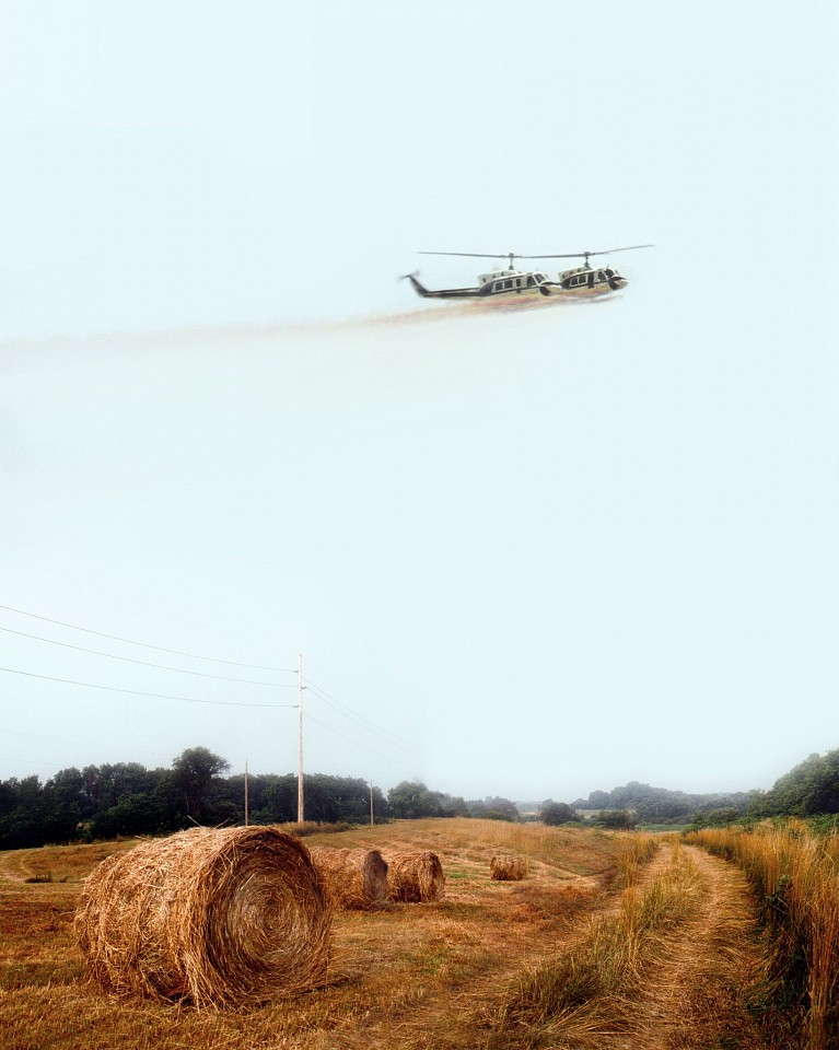 Oliver Wasow, Power Line Survey 2000, Archival inkjet