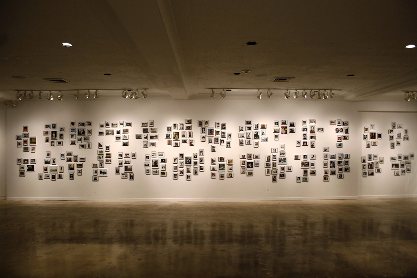 Oliver Wasow, Art and Culture Center of Hollywood, Florida (installation view) Found photographs